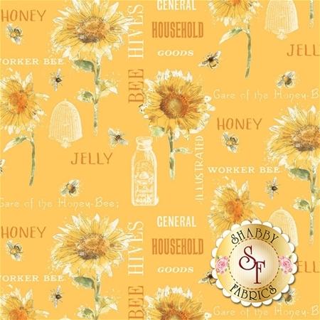Bee My Sunshine 43314-2 by Whistler Studio for Windham Fabrics