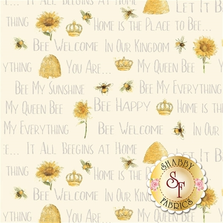 Bee My Sunshine 43316-3 by Whistler Studio for Windham Fabrics
