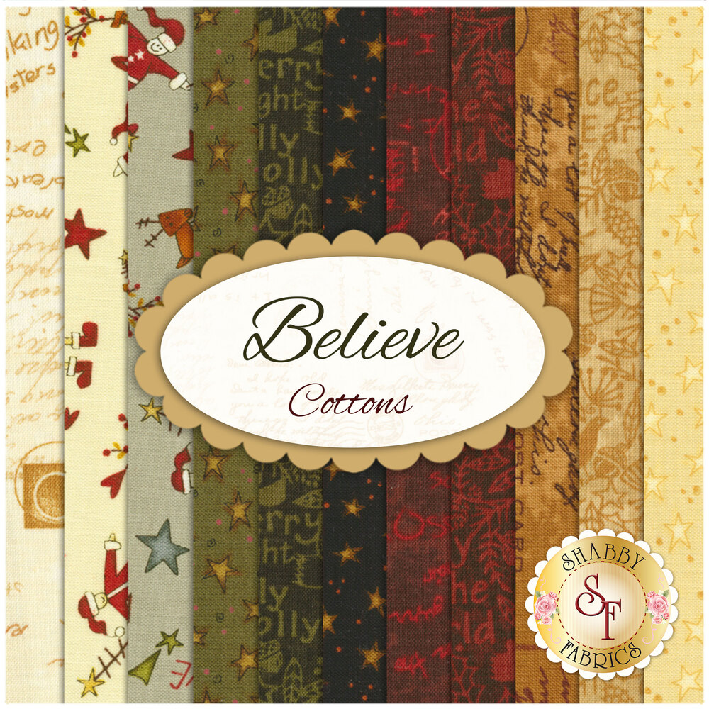 Believe  11 FQ Set - Cotton Set by One Sister Designs