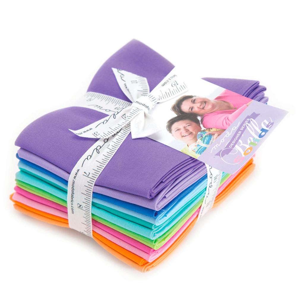 Bella Solids  12 FQ Set - Designer Select Bella Bundle | Shabby Fabrics
