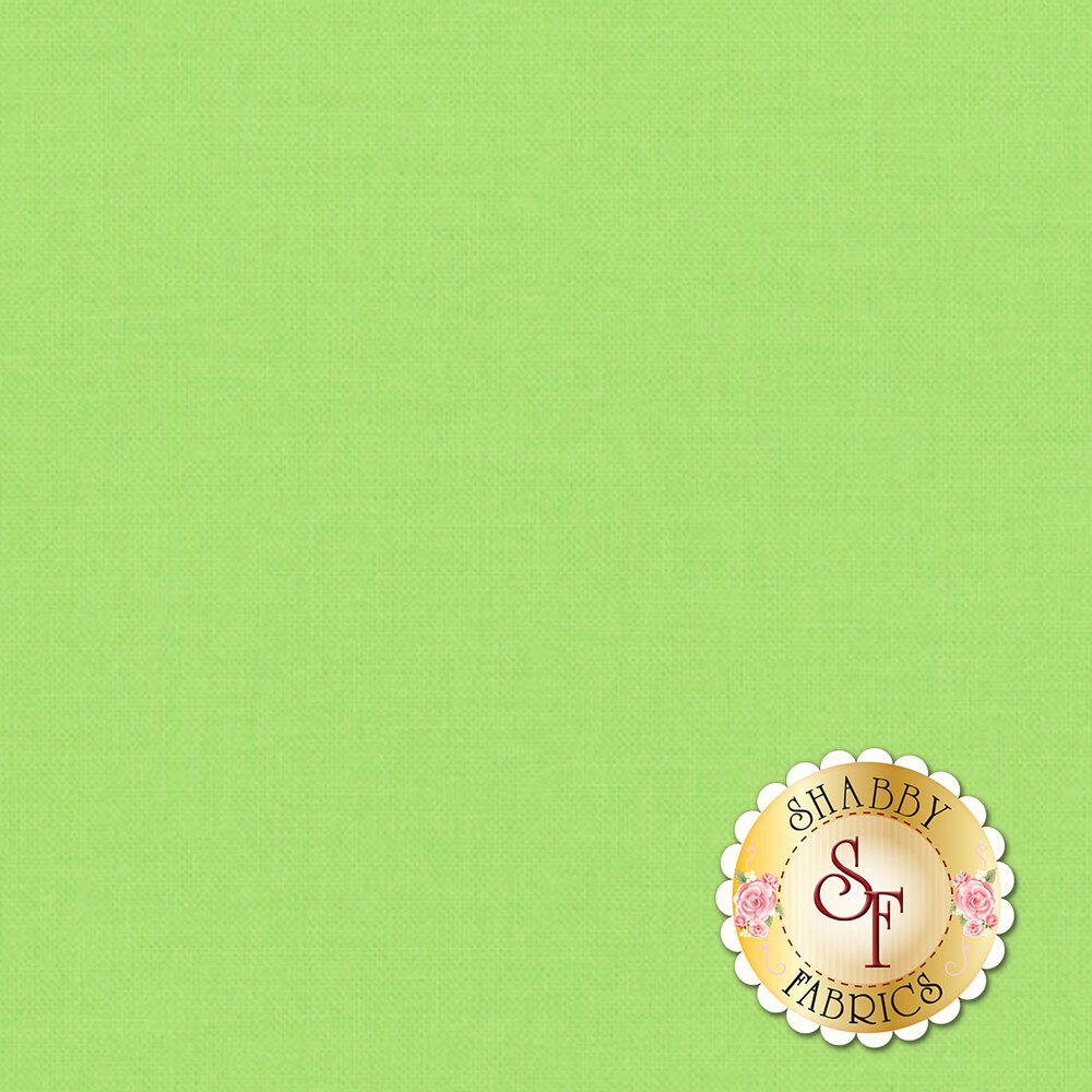 Bella Solids 9900-163 Amelia Green Moda Fabrics