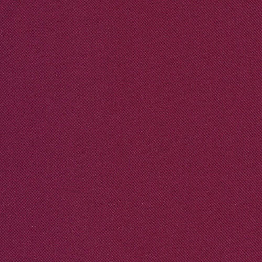 Solid boysenberry colored fabric | Shabby Fabrics