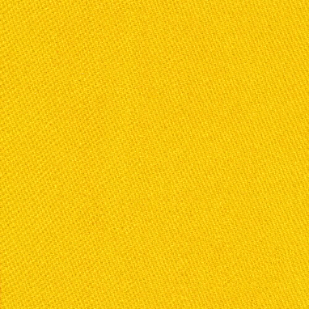 Solid sunflower yellow fabric | Shabby Fabrics