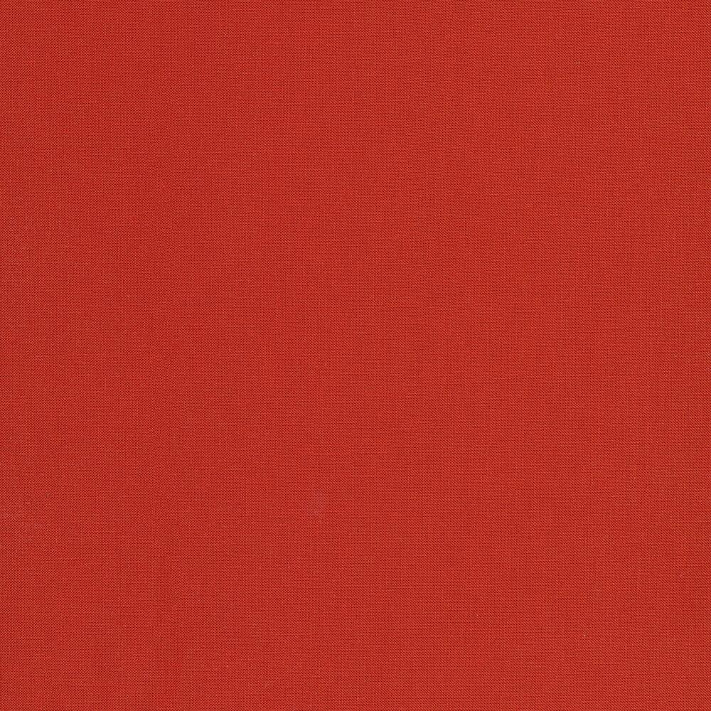 Solid orange red fabric | Shabby Fabrics