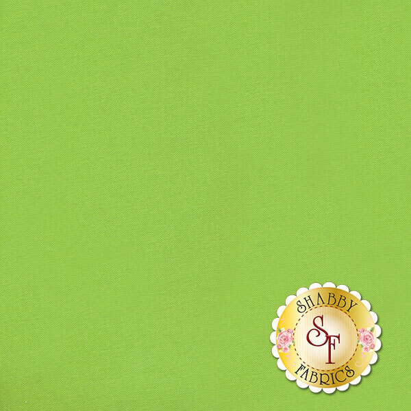 Bella Solids 9900-75 Lime by Moda Fabrics