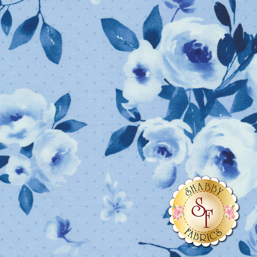 Bequest 3585-001 Sky Looking Glass Available at Shabby Fabrics