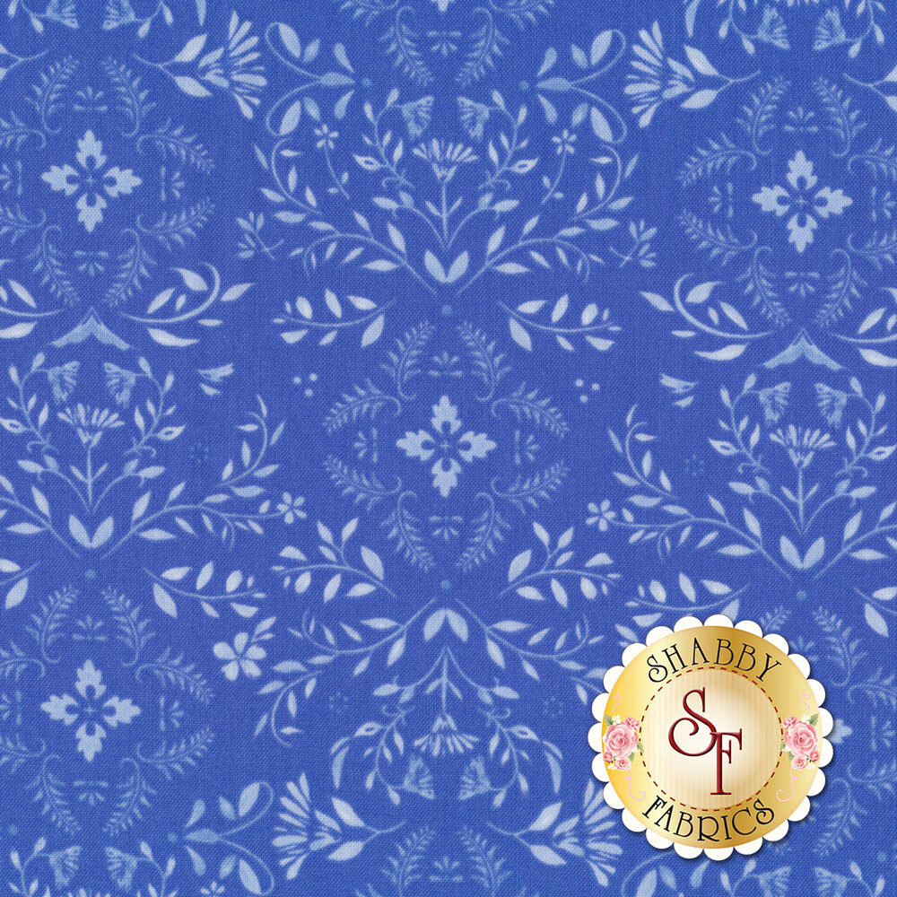 Bequest 3588-002 Potter's Blue Music Box Available at Shabby Fabrics