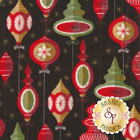 Berry Merry 30471-18 Charcoal by BasicGrey for Moda Fabrics