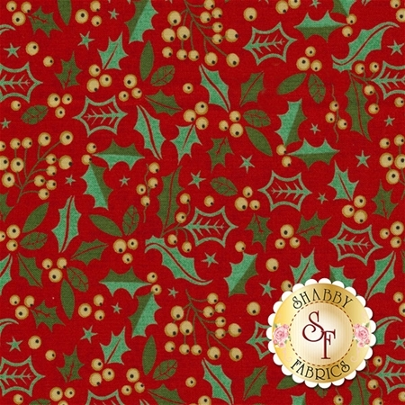 Berry Merry 30472-14 Scarlet by BasicGrey for Moda Fabrics