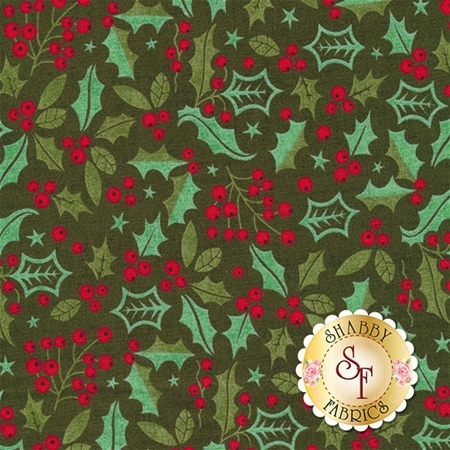 Berry Merry 30472-15 Forest by BasicGrey for Moda Fabrics