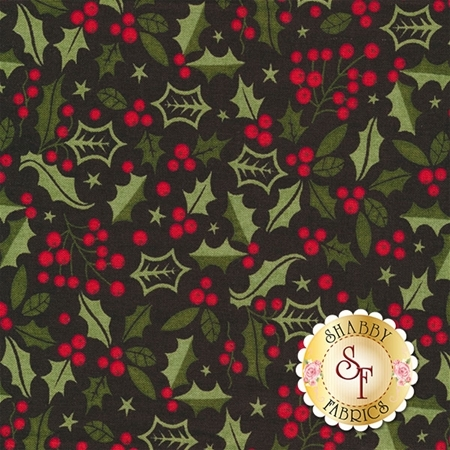 Berry Merry 30472-18 Charcoal by BasicGrey for Moda Fabrics
