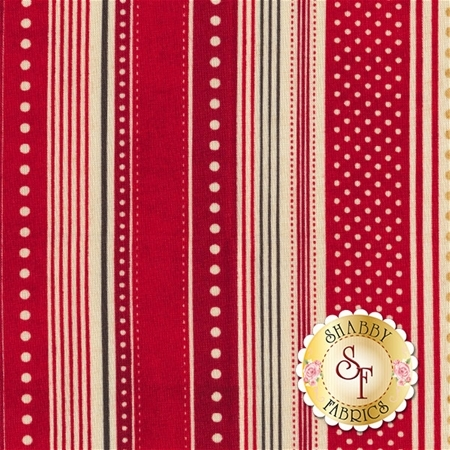 Berry Merry 30473-12 Scarlet by BasicGrey for Moda Fabrics