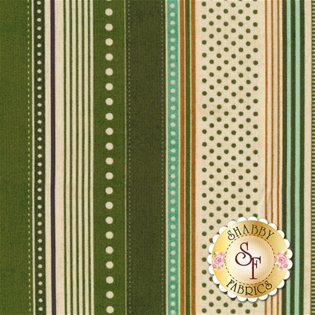Berry Merry 30473-13 Pine by BasicGrey for Moda Fabrics