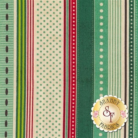 Berry Merry 30473-14 Mint by BasicGrey for Moda Fabrics