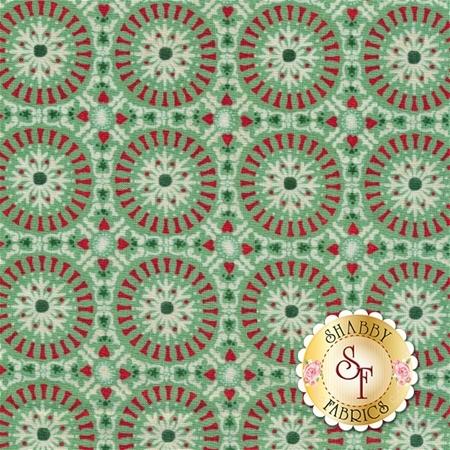 Berry Merry 30474-15 Mint by BasicGrey for Moda Fabrics