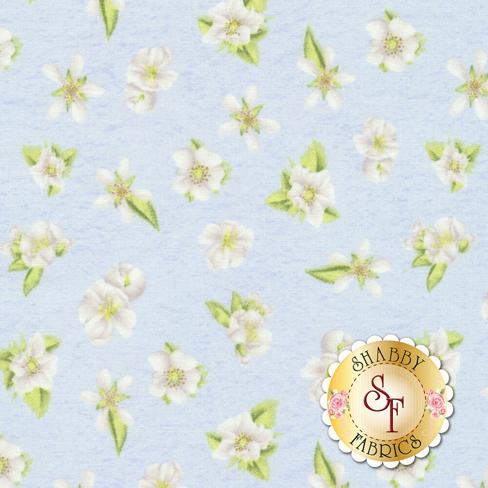 Berry Sweet 13006-471 Floral Blue for Wilmington