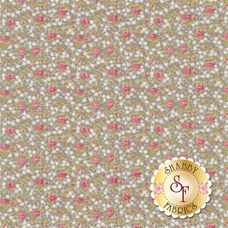 Bespoke Blooms 18623-16 Cobblestone by Brenda Riddle for Moda Fabrics