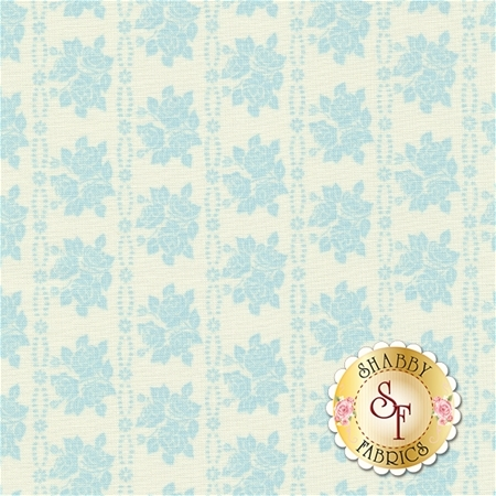 Bespoke Blooms 18625-14 Rain by Brenda Riddle for Moda Fabrics