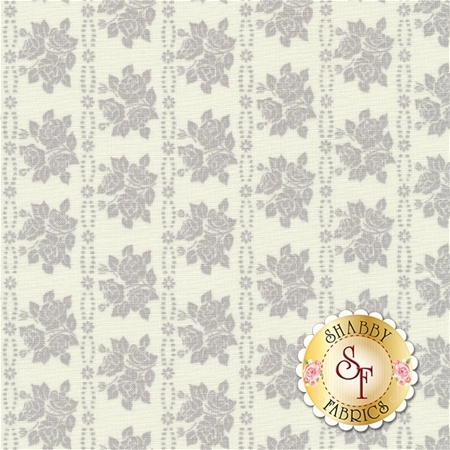 Bespoke Blooms 18625-17 Pebble by Brenda Riddle for Moda Fabrics