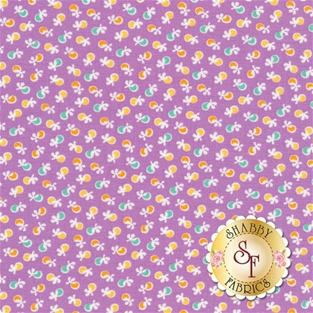 Birds Of Liberty 16346-23 Lavender by Darlene Zimmerman for Robert Kaufman Fabrics