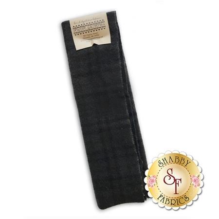 Hand Dyed Wool PRI 5003 Black Plaid by Primitive Gatherings for Moda Fabrics