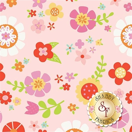 Bloom Where You're Planted C6850-PINK by Riley Blake Designs