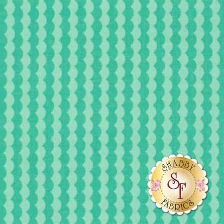 Bloom Where You're Planted C6855-AQUA by Riley Blake Designs