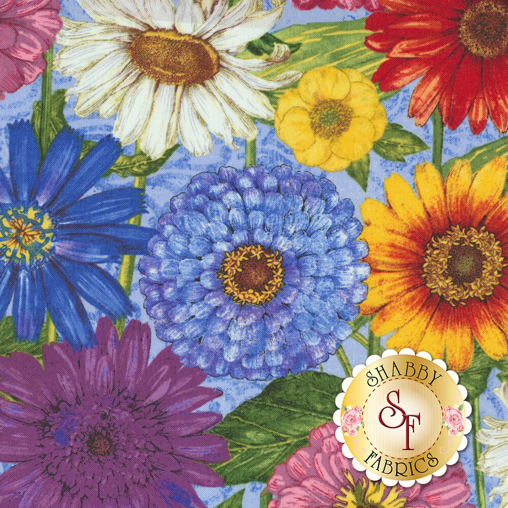 Blossom & Bloom 74201-456 by Wilmington Prints available at Shabby Fabrics