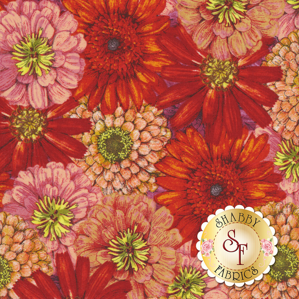 Blossom & Bloom 74202-385 by Wilmington Prints available at Shabby Fabrics