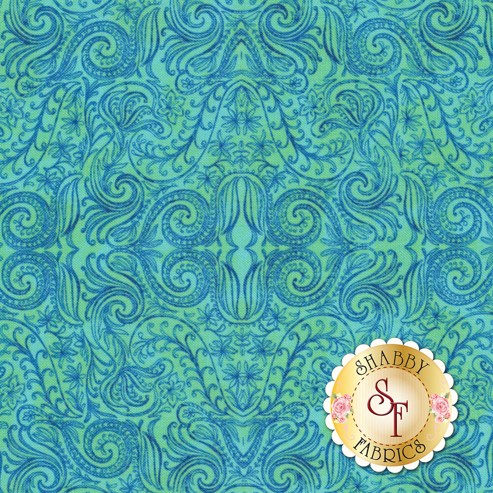 Blossom & Bloom 74205-444 by Wilmington Prints available at Shabby Fabrics