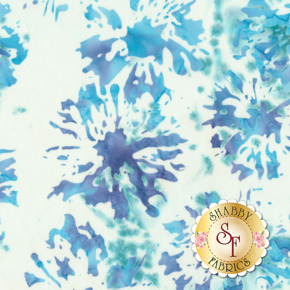 Blossom Batiks Splash 3506-002 Daisies Breeze by Flaurie & Finch for RJR Fabrics