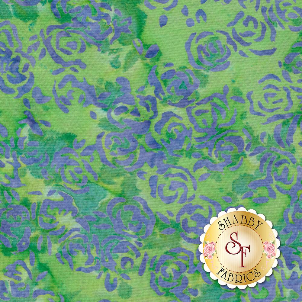 Blossom Batiks Splash 3507-001 Rosie Posie Meadow by Flaurie & Finch for RJR Fabrics