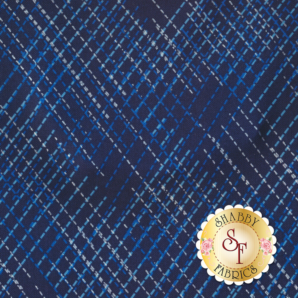 Blue Brilliance 8809P-55 by Benartex Fabrics