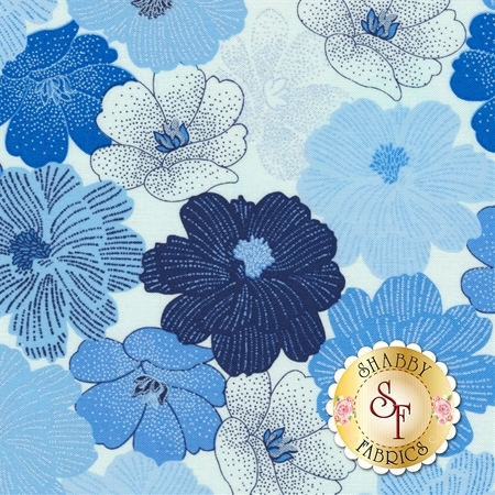 Blue Brilliance 8811P-09 by Benartex Fabrics
