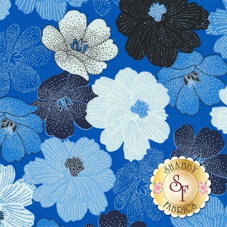 Blue Brilliance 8811P-54 by Benartex Fabrics