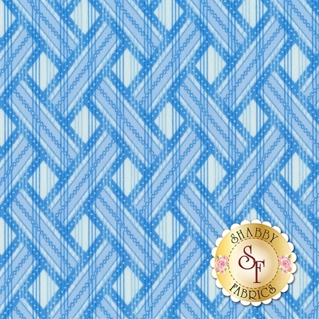 Blue Brilliance 8812P-09 by Benartex Fabrics