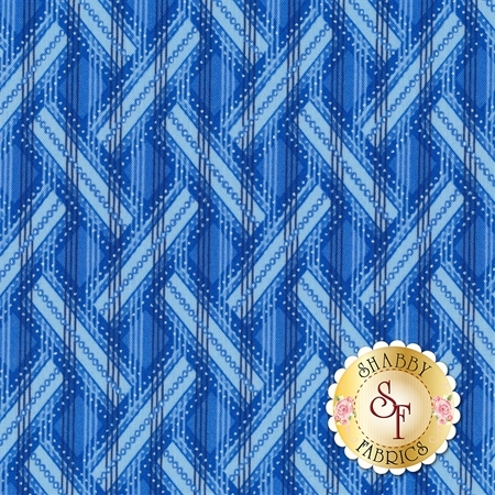 Blue Brilliance 8812P-52 by Benartex Fabrics