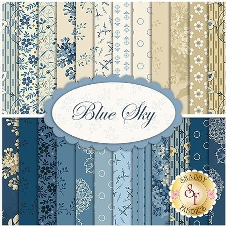 Blue Sky  24 FQ Set by Edyta Sitar for Andover Fabrics