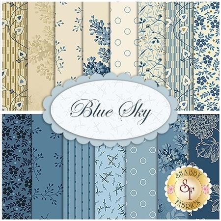 Blue Sky  15 FQ Set by Edyta Sitar for Andover Fabrics