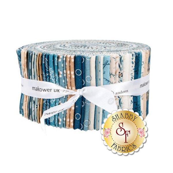 "Blue Sky 2 1/2"" Strips by Edyta Sitar for Andover Fabrics"