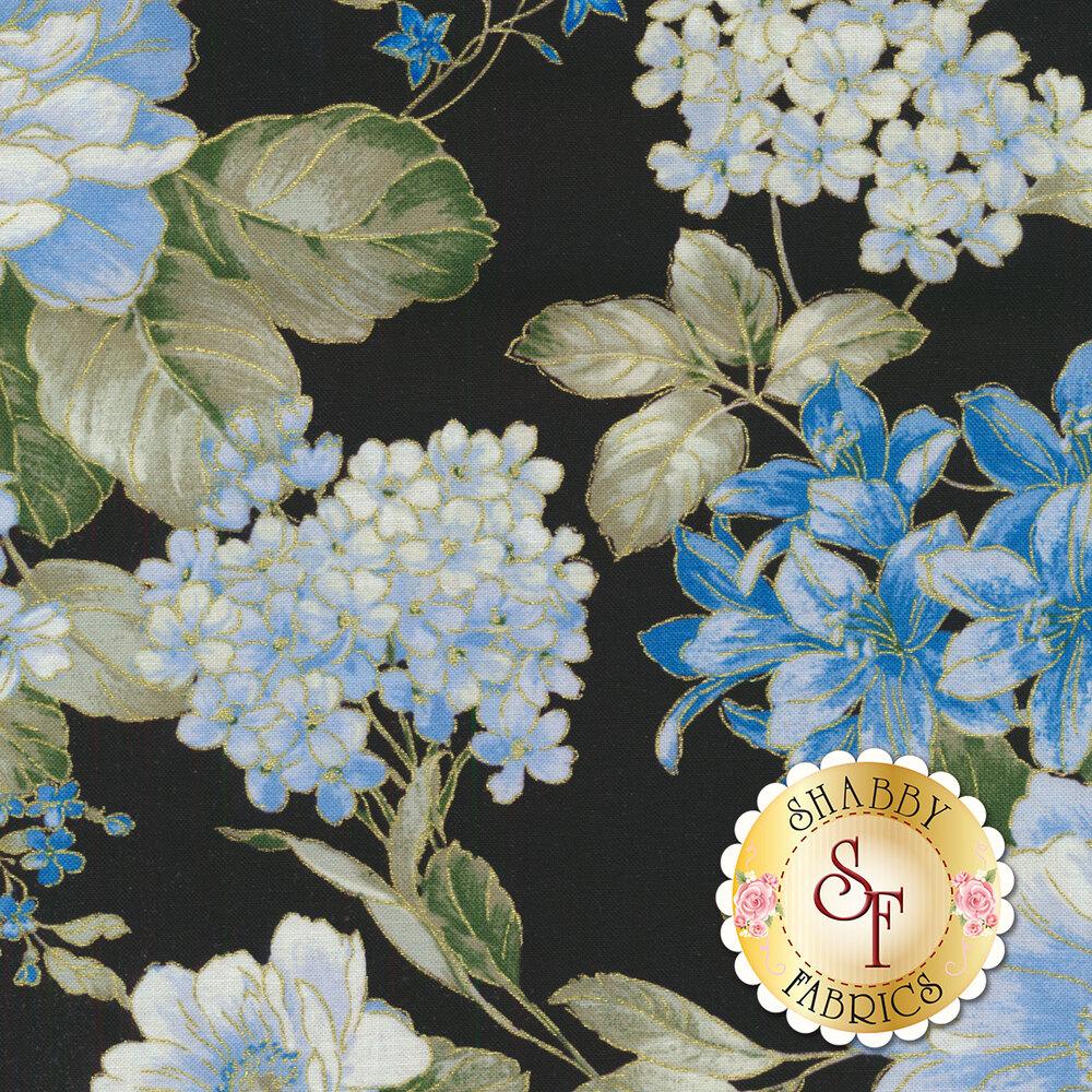 Blue Symphony 7788M-12 by Kanvas Studios for Benartex Fabrics