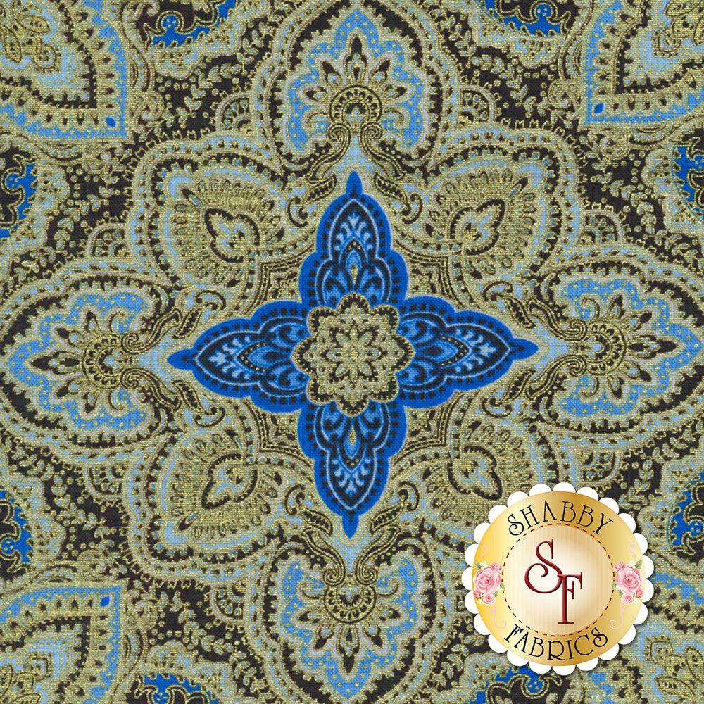 Blue Symphony 7789M-12 by Kanvas Studios for Benartex Fabrics