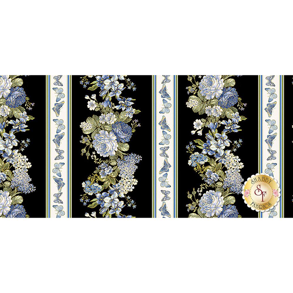 Blue Symphony 7791M-12 by Kanvas Studios for Benartex Fabrics