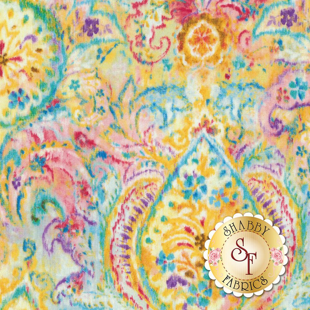 Bohemian Dreams 89190-154 Boho Paisley Golden