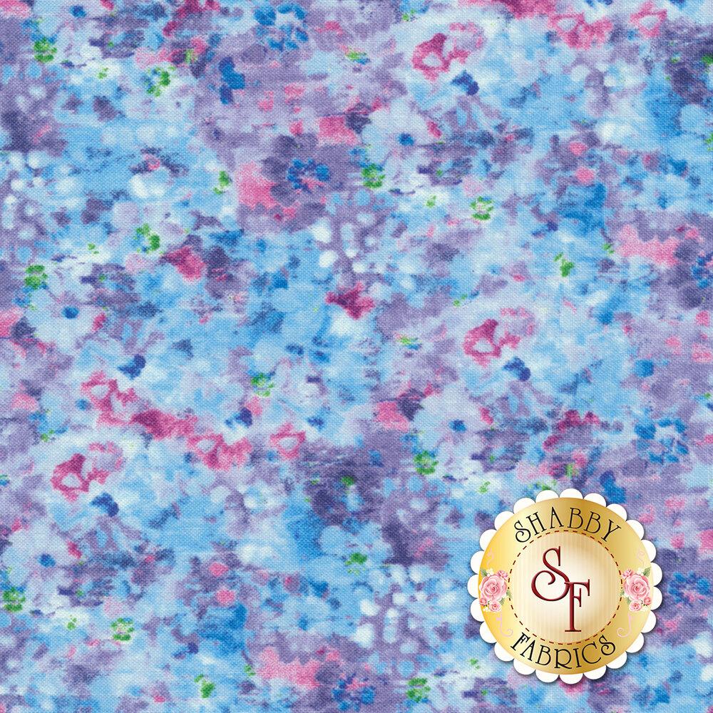 Bohemian Dreams 89195-467 Flower Texture Blue