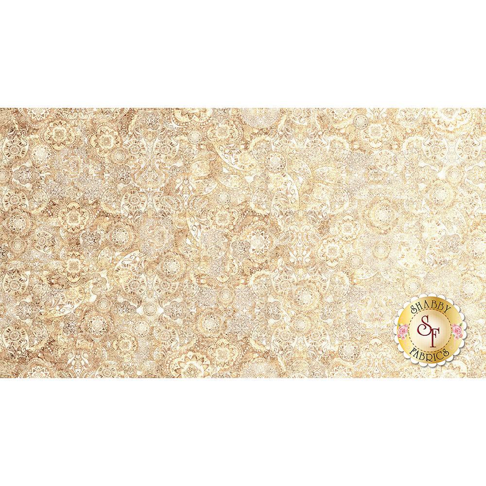 Bohemian Rhapsody 26956-E Cream by Quilting Treasures Fabrics