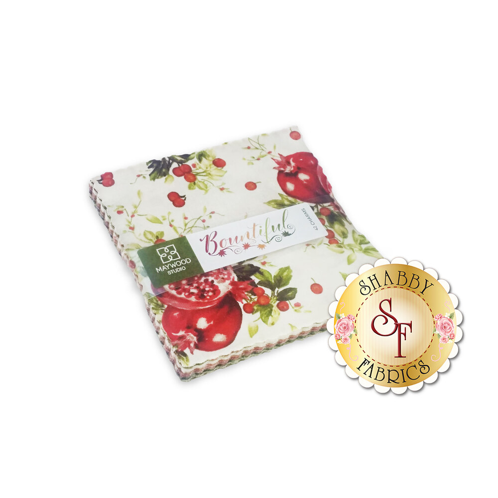 "Bountiful  5"" Squares by Maywood Studio"