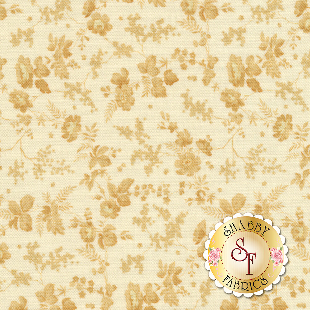 Bricolage 98647-122 Trailing Flowers Ivory by Wilmington Prints