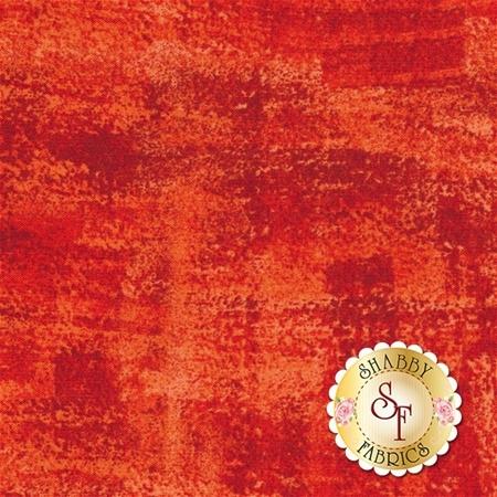 Brushline A-8537-O1 Really Orange by Kim Schaefer for Andover Fabrics