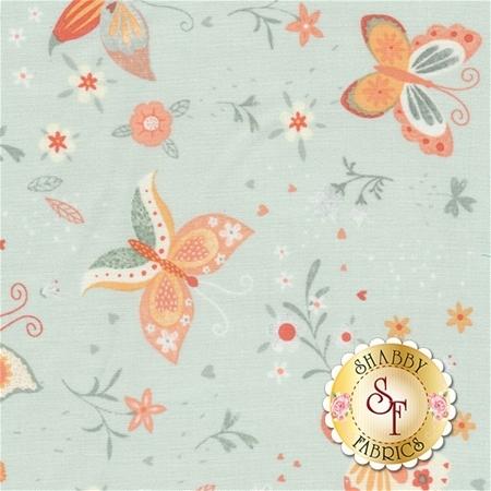 Bunny Tales 3553-11 by Lucie Crovatto for Studio E Fabrics